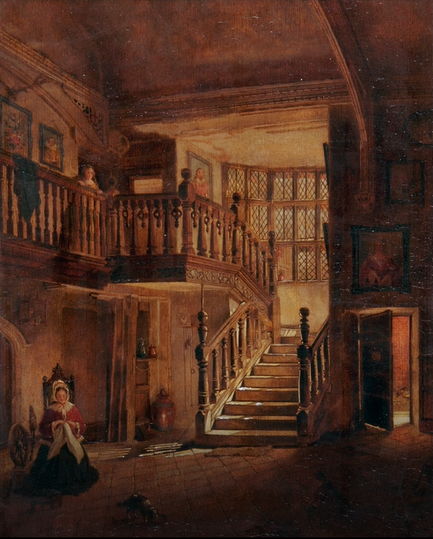 Strangers Hall Interior Stairs