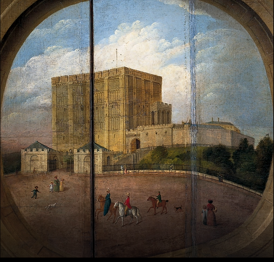 Norwich Castle Wooden Screen