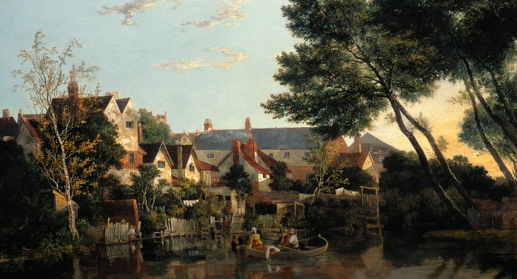 Norwich River Afternoon John Crome