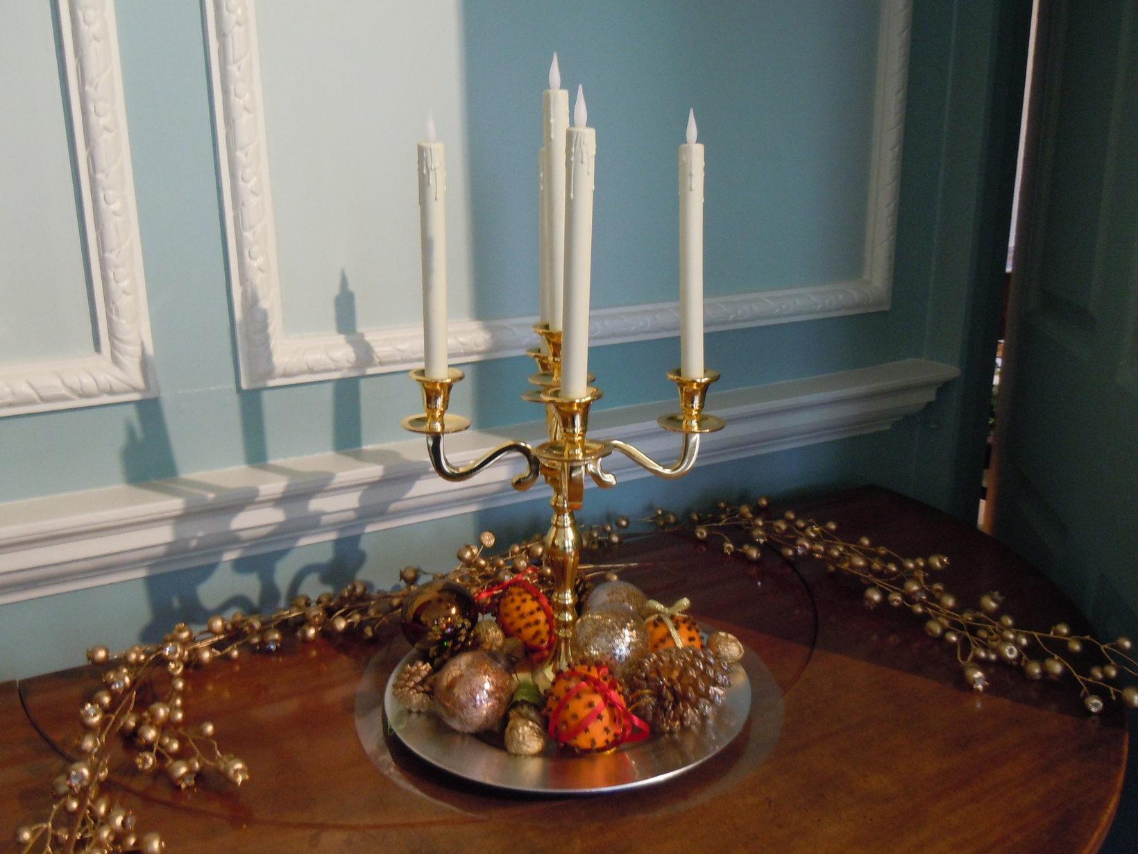 Georgian Christmas Deco