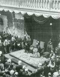 Opening Norwich Castle in 1894