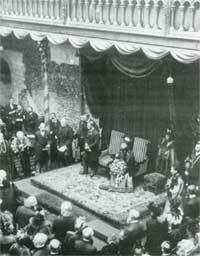 Opening Norwich Castle in 1894